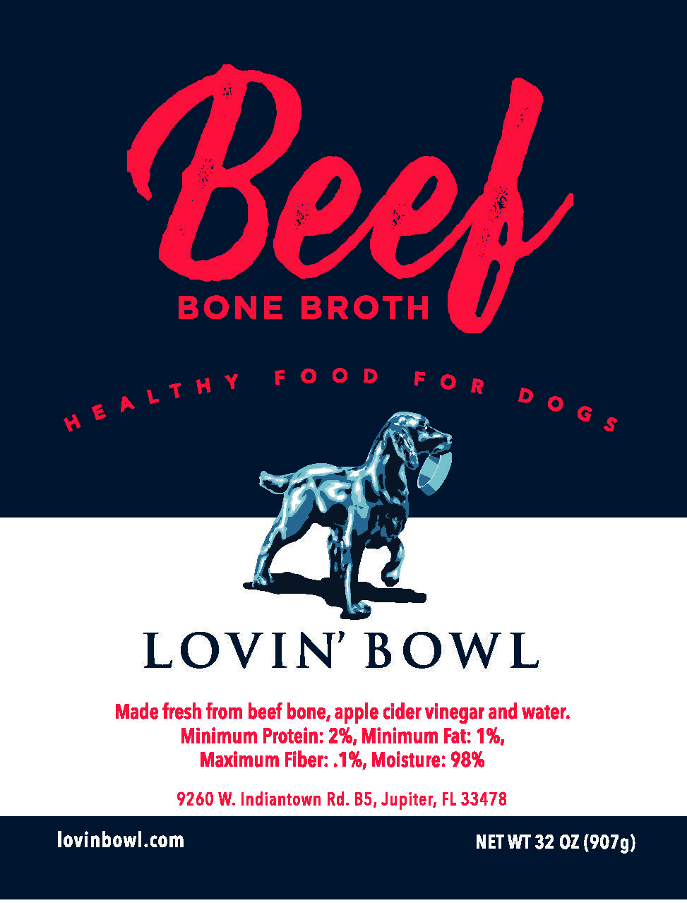 Beef Bone Broth - 32oz